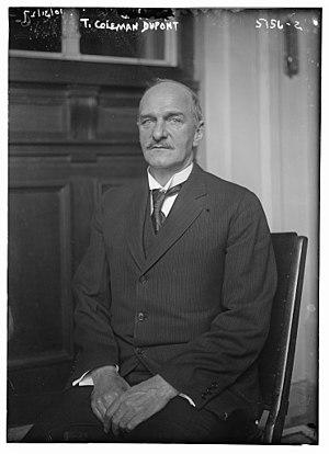 T. Coleman du Pont - Dupont in 1920