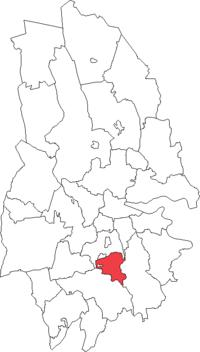 Hallsbergs landskommune i Örebro amt