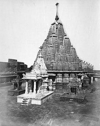 Girnar Jain temples - Neminath Temple