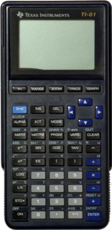 calculatrice graphique texas ti 83
