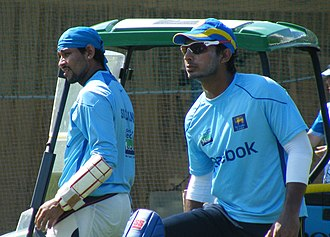 Kumar Sangakkara - Sangakkara (right) resigned from captaincy after the 2011 World Cup and was succeeded by Tillakaratne Dilshan (left).