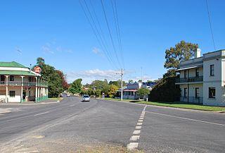 Tallarook Town in Victoria, Australia