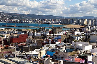 Tangier - Panoramic view of Tangier