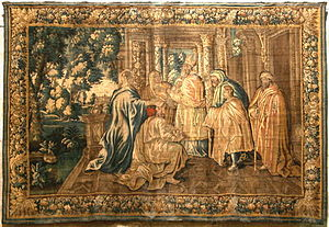 Aubusson tapestry - Image: Tapisserie Aubusson Arles 4