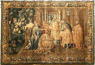 Aubusson tapestry - Image: Tapisserie Aubusson Arles 4