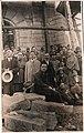 Targu Ocna-Monumentul Eroilor constructie.jpg