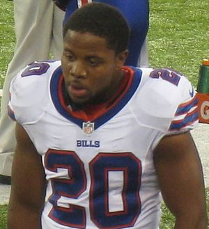 Tashard Choice - Choice in 2013 playing for the Buffalo Bills.