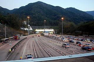 「草山隧道」將取代長3.9公里的大老山隧道,成為香港最長的行車隧道。 (圖片:Citobun@Wikimedia)