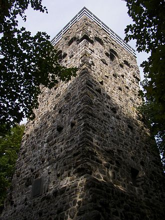 Vogelsberg - Bismarck tower on the Taufstein