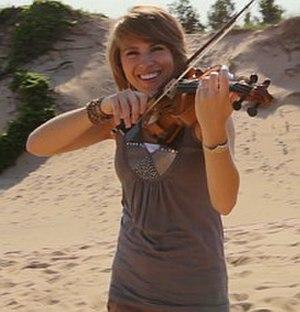 Taylor Davis (violinist) - Image: Taylor Davis Wide Awake Capture