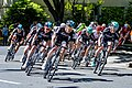 Team Sky leads the field on the final laps of Stage 1 in Sacramento (34834258502).jpg