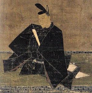 Fujiwara no Teika - A portrait of Teika Attributed to Fujiwara no Nobuzane Kamakura period