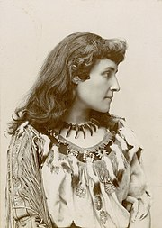 E. Pauline Johnson, Brantford, Ontario, ca.1885-1895