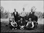 Ten men posed as for a sporting photograph (3094320794).jpg