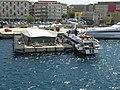 Terminal passeggeri Mezzi veloci e Aliscafi, su Cassone galleggiante fissato alla banchina Rizzo - Harbour of Messina, Sicily, Italy - 30 July 2013.jpg