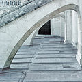 Terrasse en plomb sous arc boutant - cathédrale Notre Dame du Havre..jpg