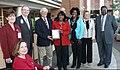 Terri Sewell receiving Standing Up for Seniors Award from RetireSafe in 2011.jpg