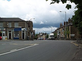 Thackley Village in West Yorkshire, England