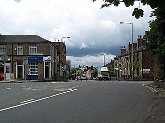 Thackley - Image: Thackley Corner geograph.org.uk 24295