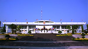 History of Thailand since 1973 - Parliament House, the meeting place of the two chambers of the National Assembly of Thailand