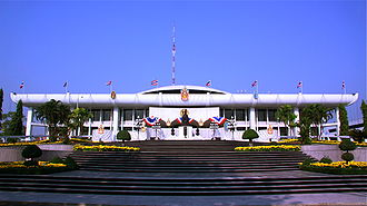 Government of Thailand - Parliament House of Thailand, the meeting place for both the House and Senate since 1974.