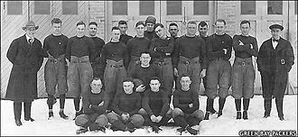 1919 Green Bay Packers season - Image: The 1919 Green Bay Packers