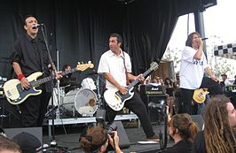 The Adolescents op de Warped Tour van 2007