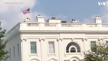 קובץ:The American flag files at half-staff at the White House for Sen. John McCain.webm