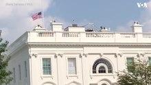 Archivo: Los archivos de la bandera estadounidense a media asta en la Casa Blanca para el senador John McCain.webm