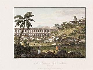 The Aqueduct in Rio de Janeiro (taken Dec.r 1792)