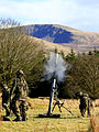 The Arty School exercising both a Young Officers course and an Artillery Standard NCO cse Live Firing Day and night shoot 40 (16944249385).jpg