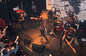 The Casualties - The Casualties live in Poland 2007
