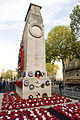 The Cenotaph, Whitehall, London Following the Remembrance Day Parade in 2010 MOD 45153263.jpg
