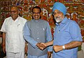 The Chief Minister of Madhya Pradesh, Shri Shivraj Singh Chouhan meeting with the Deputy Chairman, Planning Commission, Dr. Montek Singh Ahluwalia to finalize Annual Plan 2008-09 of the State, in New Delhi on March 25, 2008.jpg