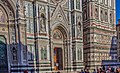The Facade of Cattedrale di Santa Maria del Fiore (Cathedral of Saint Mary of the Flowers), Florence.jpg