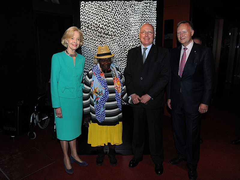 File:The Governor-General with Ms Lena Nyadbi, Mr Stéphane Martin and Mr Rupert Myer.jpg