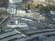 The Hard Interchange from the Spinnaker Tower