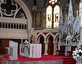 The High Altar at St Patrick's RC Church, Downpatrick - geograph.org.uk - 1529365.jpg