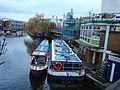 The Jenny Wren and My Fair Lady moored on the Regent's Canal - geograph.org.uk - 1707160.jpg