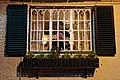 The Jolly Tanners Staplefield West Sussex window at night.jpg