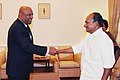 The Minister of Defence & National Security of Maldives, Mr. Ameen Faisal, called on the Defence Minister, Shri A. K. Antony, in New Delhi on October 27, 2009.jpg