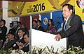 The Minister of State for Youth Affairs and Sports (Independent Charge), Shri Sarbananda Sonowal addressing at the closing ceremony of the 12th South Asian Games-2016, in Guwahati on February 16, 2016.jpg