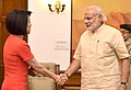 The President & CEO of Ruckus Wireless, Ms. Selina Lo calls on the Prime Minister, Shri Narendra Modi, in New Delhi on April 23, 2016.jpg