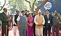 The Prime Minister, Shri Narendra Modi inaugurating an exhibition at the Maritime India Summit, in Mumbai.jpg