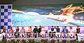 The Prime Minister, Shri Narendra Modi launched the various projects and schemes in Nagpur, at a function, at Indoor Sports Complex, Mankapur.jpg