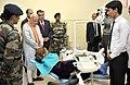 The Prime Minister, Shri Narendra Modi visiting the India-Tajik Friendship Hospital, in Quarghan Teppa, Dushanbe, Tajikistan on July 13, 2015. The President of Tajikistan, Mr. Emomali Rahmon is also seen.jpg