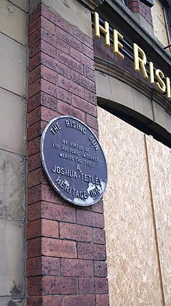 Photo of The Rising Sun, Leeds blue plaque