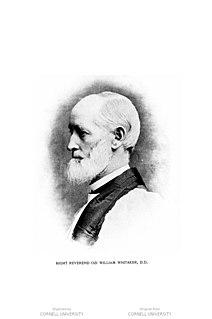 Ozi William Whitaker American bishop