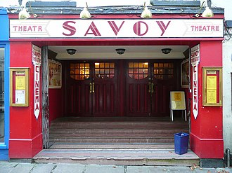 Savoy Theatre, Monmouth - Entrance to the Savoy Theatre