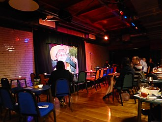 The Stand Comedy Club - Stage at The Stand, Newcastle